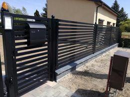 Ogrodzenia Kutno Bramy przesuwne, Panele, Balustrady Usługi ślusarskie