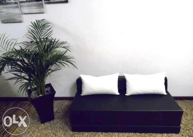 Materac składany rozkładany fotel sofa łóżko pufa Mosina - image 3