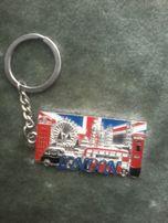 Винтажный брелок для ключей Лондон