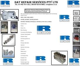 Chinese Generator Engine Spares