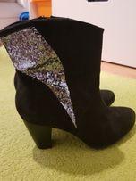 Botki Nowe deichmann kozaki buty damskie