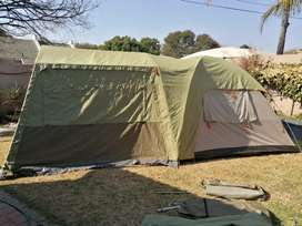 Howling moon dome tent & extension