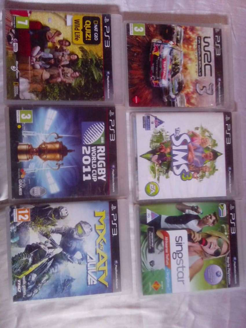 PS3 Games. R100 each or R500 for all. 0