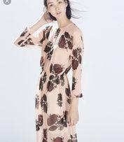 Платье Zara длинное