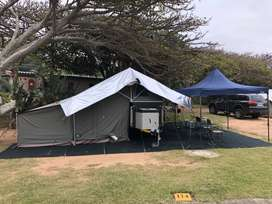 2020 Wildebeest Exclusive Camp Trailer for Sale R110 000