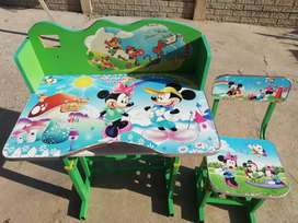Mickey /Minnie table and chairs