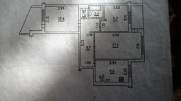 продам 3-кімнатну вмеблйовану квартиру без посередників