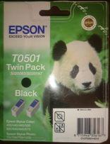 Картридж Epson T0501 TwinPack