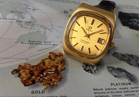 WATCHCHECK - OMEGA Seamaster Gents TV Dial Automatic Gold Plated