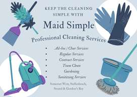 Maid Simple Cleaning/Gardening