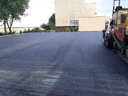 Asfalt, asfaltowanie, wylewanie asfaltu, układanie asfaltu budowa dróg