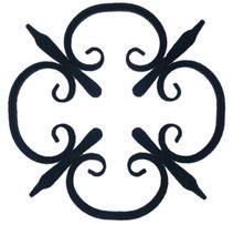 Кованые завитки, интегралы, розетки (ковка, литьё, штамповка)от 26 руб