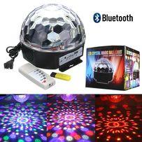 Светодиодный диско шар Magic Ball MP-3 Светомузыка USB Bluetooth Пульт