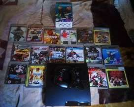Ps3 320 Gb,16 games,2controllers,Ps move camera and controller