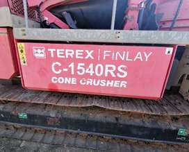 2011 Terex Finlay 1540RS Cone Crusher