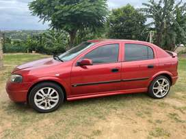 Opel Astra 1.8 16valve. A very fast car everything works.