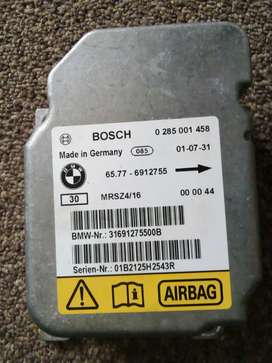 Airbags control module for BMW 318I E46 and other parts for sale