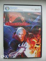 2 DVD-диска с игрой Devil May Cry 4 и Фабл (для РС)