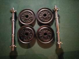 14kg Dumbbell set at R650 - Great condition