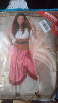Strój, przebranie, kostium karnawałowy, średniowieczny, M/L Halloween