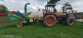NHS Wood chipper + same 4×4 6cyl tractor