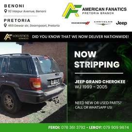 Now stripping Jeep Grand Cherokee WJ 1999 - 2005 for spares!