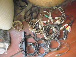 аудио видео кабель 3,5;СССР;колокольчики;USB;и др.