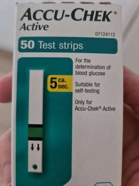 Accu Check Active blood sugar testing strips