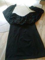 Sliczna mini sukienka z koronka