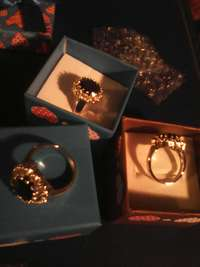 Image of Princess Di rings.These rings now part of the big collection