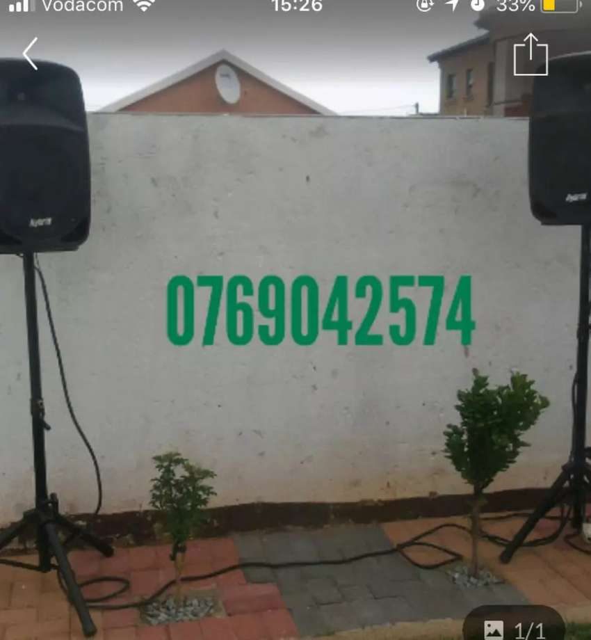 Small Sound Hire (Be UR Own DJ 0