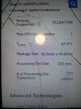 Intel core i7 prossesor