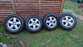 Mags for Volkswagen Transporter, Kombi or Caravelle. 17 inch rims