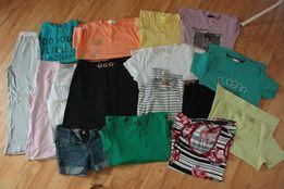 Mega paka 31 szt T-shirt podkoszulki spódnice spodnie rozmiar XS/S