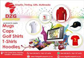 Graphic Design: T-Shirt: Printing: Screen Printing: Embroidery: