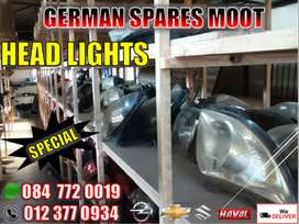 Opel,Chev,Suzuki and Haval new and used parts-headlights