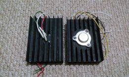 Транзистор КТ805А,КТ808А, КТ809А,КТ803А, КТ825Г с радиатором.