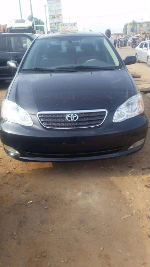 Foreign use 2005 Toyota Corolla for sale 0