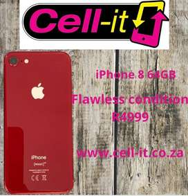 iPhone 8 Red Flawless condtion