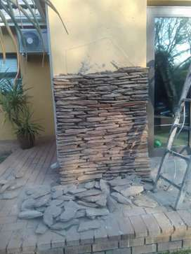 Stone cladding and house renovating