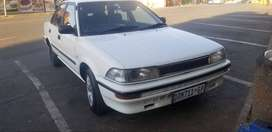 1992 Toyota Corolla 1.6 gls auto,very rear in this condition