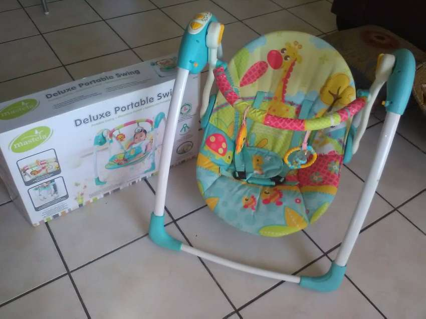 Deluxe portable babu swing for sale