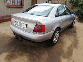 Audi A4 2.8 V6 2000 model automatic transmission, silver in color