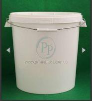Пластиковое ведро 20 литров мет ручка пищевое/не пищевое