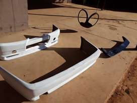Ford siera body kit bumpers and spoiler