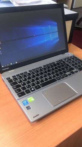 Core i7 touchscreen laptop with 2gb dedicated graphics card