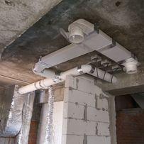 Монтаж систем вентиляции и кондиционирование, вытяжка из помещений