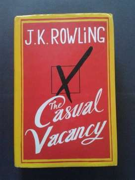 The Casual Vacancy - J.K. Rowling.