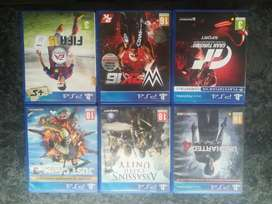 Playstation 4 games (×6)