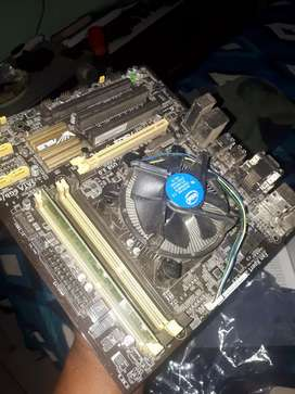 4th gen  i5 with mother board
